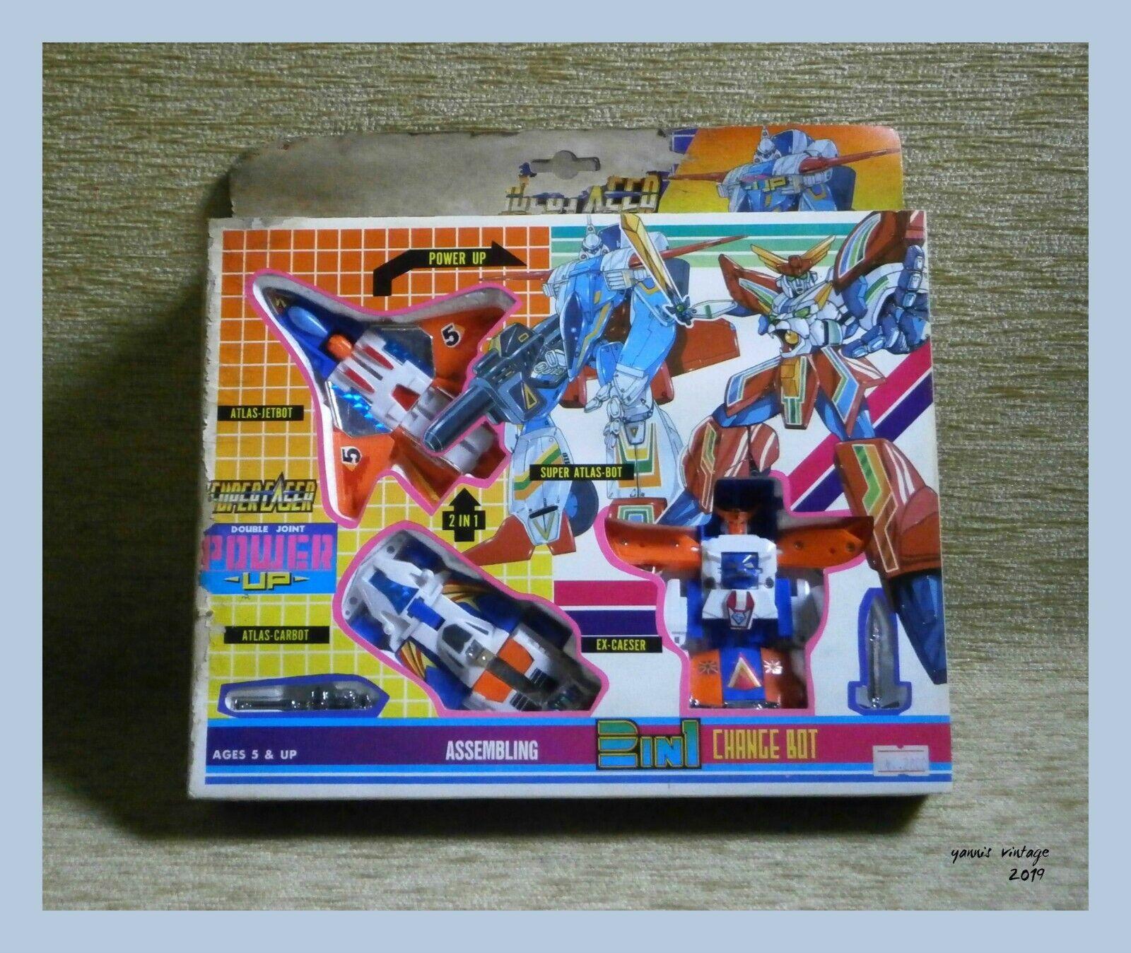 SUPER Atlas Bot  Voiture Bot  & Jet Bot Neuf dans sa boîte Taiwan Transformers vintage rare  économisez 60% de réduction et expédition rapide dans le monde entier