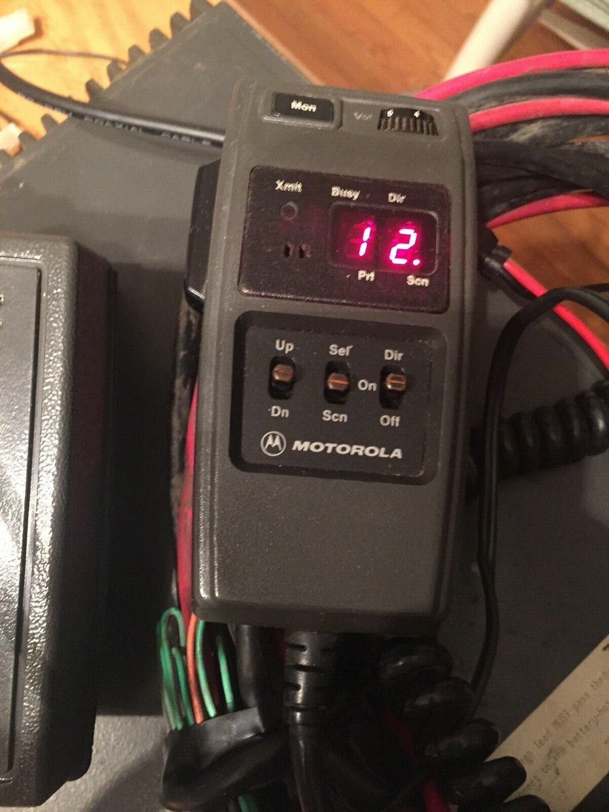Motorola T81XTA7TA5BK Maratrac 100 Watt VHF Low Band 99 Channel Radio w HCN1051A. Buy it now for 79.00