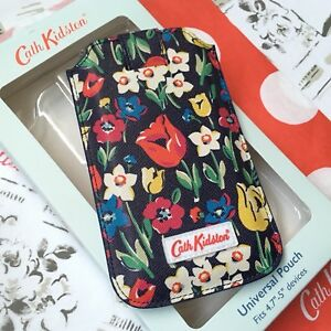 CATH-KIDSTON-Navy-Floral-Universal-4-7-034-Device-Phone-5-5s-SE-Cover-Case-Pouch-BN