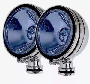 2-x-Chrome-4-034-BLUE-Angel-Eye-Halogen-Car-Spotlights-Fog-Spot-Lights-Fog-lights