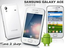Samsung GALAXY Ace Plus GT-S7500 - White (Unlocked) WiFi GPS Android Phone