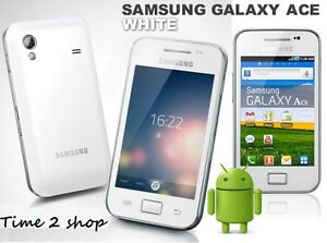 Samsung-Galaxy-Ace-Plus-GT-S7500-weiss-Entsperrt-Wi-Fi-GPS-Android-Handy
