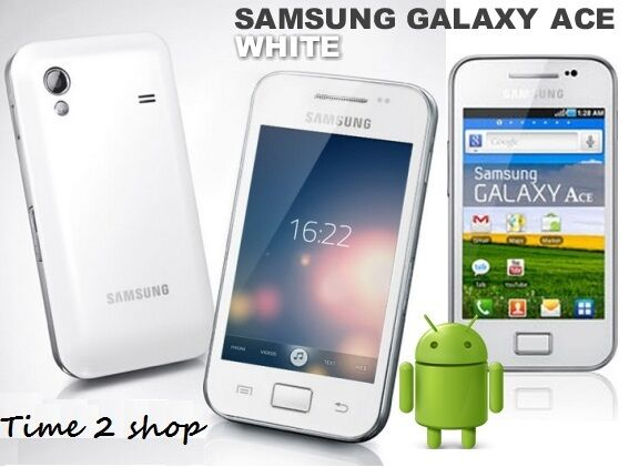 Samsung Galaxy Ace Plus GT-S7500 - Weiß (Entsperrt) Wi-Fi GPS Android-Handy