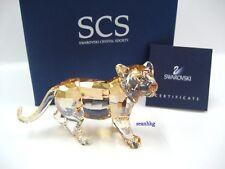 5703cb07a3c item 3 Swarovski Scs 2010 Tiger Cub Standing Ann. Ed Crystal Figurine  Authentic 1016677 -Swarovski Scs 2010 Tiger Cub Standing Ann. Ed Crystal  Figurine ...