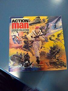 ALBUM-FIGURINE-ACTION-MAN-PANINI-1983-RARITA-039-INTROVABILE-IN-ITALIA-GIJOE-JEEG