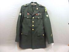 USA US Jacke und Hose Coat Mens Army Green mit allen Effekten, Größe 39 Regular