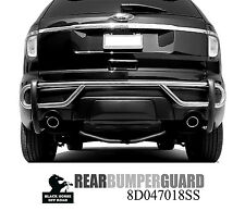 Black Horse Stainless 13 17 Ford Escape Rear Bumper Guard Single Tube 8D048818SS
