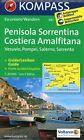 Halbinsel Sorrent /Penisola Sorrentina - Costiera Amalfitana - Vesuvio - Pompei - Salerno - Sorrento (2016, Mappe)