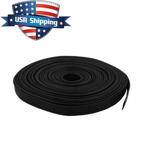 3//16in Diameter Heat Shrink Tubing Shrinkable Tube 50ft Black 3:1 Ratio 5mm