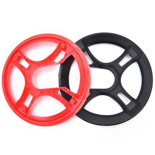 Bicycle Chain Wheel Cover Plastic Plate Protective Guard Pivot Crank Protec VU