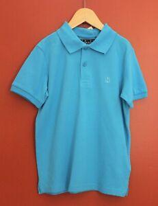 NWT-Mayoral-Nukutavake-Boys-039-Short-Sleeve-Polo-Shirt-in-Turquoise-Size-8-10-16