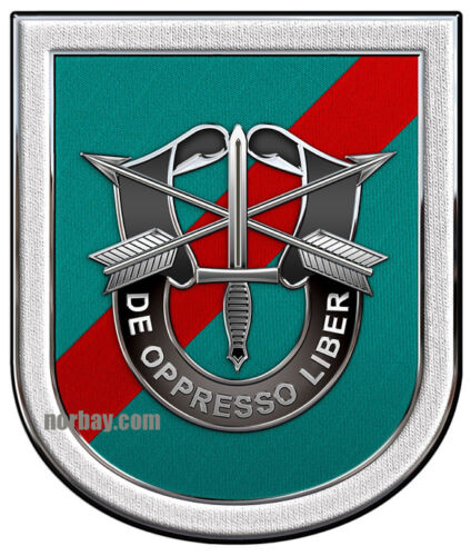 """Special Forces 20th SF Group all metal Sign 18 x 15/"""""""