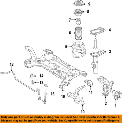 FORD OEM Front Suspension-Dust Shield CV6Z18A047A