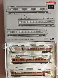 Märklin H0 37501 S-bahn Zugset Locomotive Électrique Ferroviaire