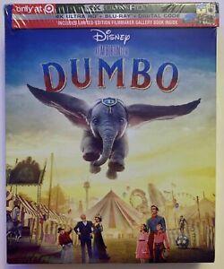 NEW-DISNEY-DUMBO-2019-4K-ULTRA-HD-BLURAY-DIGITAL-2-DISC-TARGET-EXCLUSIVE-DIGIPAC