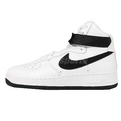 Nike Air Force 1 Hi Retro QS Color Of The Month Black Mens Casual 743546-105