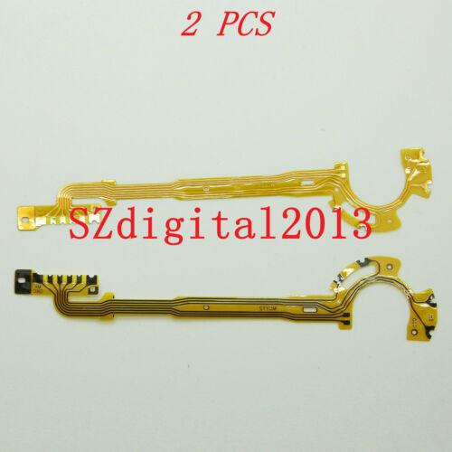 2PCS// Lens Shutter Flex Cable For Canon Powershot A410 A420 A430 A450 A460 A470