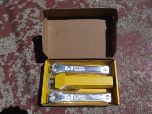 GT Power Series Cranks 175 mm fits old school bmx gt jmc cook bros vdc others