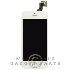 Complete LCD Digitizer Assembly for Apple iPhone 5S CDMA GSM White ... 524a40f7b8
