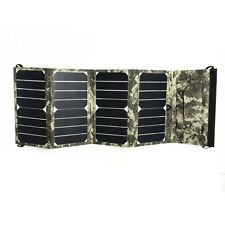 Solar Sunpower Panel Portable Multifunction Charger 24W 12V & 5V USB
