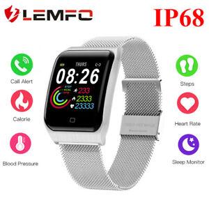 Lemfo-F9-Reloj-Inteligente-IP68-Impermeable-Frecuencia-Cardiaca-Para-Android-IOS