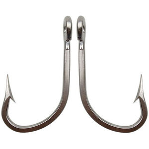 6//12 Big Game 7731 Stainless Steel Fishing Hooks Thick Tuna Saltwater Fish Hook