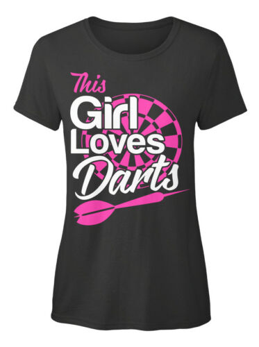 Standard Women/'s Standard Women/'s T-shirt On trend This Girl Loves Darts