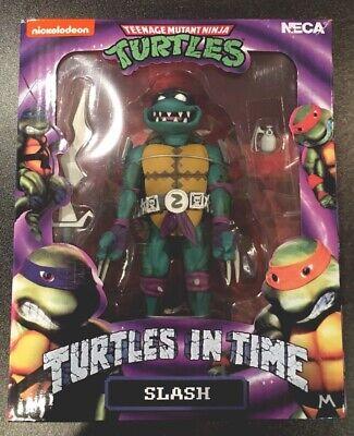 """Turtles in Time 7"""" COMPLETE Series 1 set of 4 Teenage Mutant Ninja Turtles"""