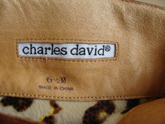 Charles David Mujer Mujer Mujer Cuero Botas Kalyn Coñac Medio Con Caja 887f9c