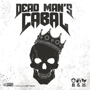 Dead Man/'s Cabal with Kickstarter Cards Board Game Sealed NIB