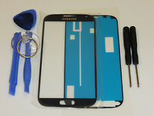 SAMSUNG GALAXY S4 i9500 i9505 FRONT GLAS TOUCH SCHEIBE TOUCHSCREEN DISPLAY BLAU