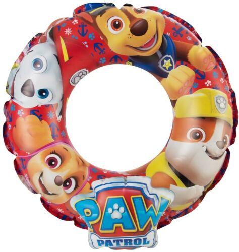 Badepspaß Paw Patrol Schwimmring für Kinder Poolbegleiter