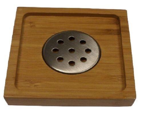 Duck Board Wooden Natural Wood Bamboo Bathroom Oval