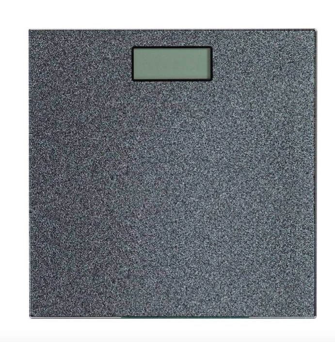 Black Weighing Scale To Count Weight Loss Habitat Glitter Weigh Yourself
