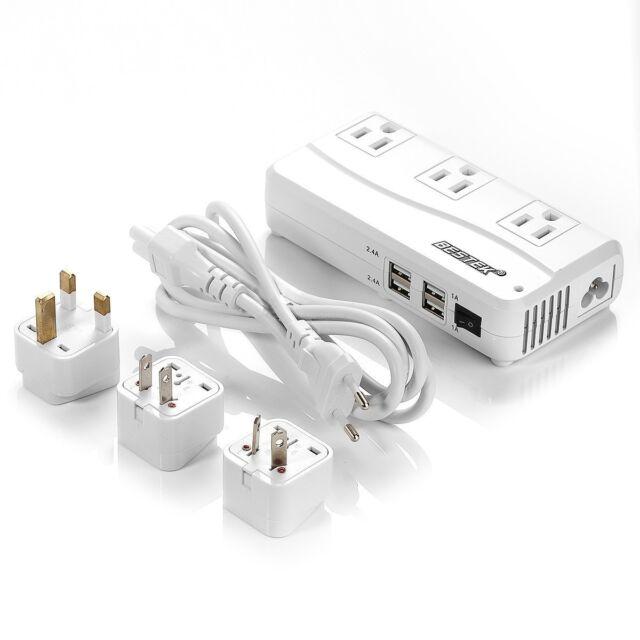 Bestek 220v To 110v Travel Voltage Converter Adapter International Uk Us Au Eu