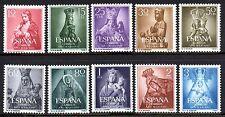 Spain - 1954 Maria year / Madonna's Mi. 1028-37 MNH