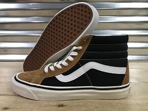 2a133b2c88c Vans Sk8 Hi 38 DX Skate Shoes Anaheim Factory OG Hart Brown SZ 9 ...