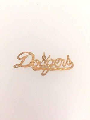 Weitere Ballsportarten Sport UnabhäNgig Los Angeles Dodgers Logo Anhänger 14k Gelbgold In Verschiedenen AusfüHrungen Und Spezifikationen FüR Ihre Auswahl ErhäLtlich