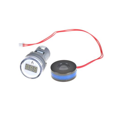 AC 220 V 0-100A Digital Amperemeter 22mm Display Monitor Strommessgerät YT