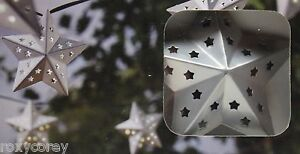 Image Is Loading Threshold 20 Silver Star Solar String Lights Weather