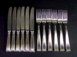 Art-Deco-Besteck-Vorspeisenbesteck-100er-Silber