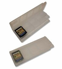 8 x WHITE GAME CARD 2 x MEMORY CARD CASE HOLDER for SONY PS Vita CARTS UK Seller