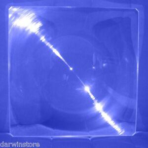 """Grand Rigide Acrylique Fresnel Lentille Solaire Loupe Four 12 X12 """" 310x310mm Cadeau IdéAl Pour Toutes Les Occasions"""