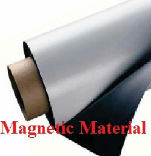 """24/"""" width x 50 Feet ROLL 30 Mil Blank Magnetic Sign Sheet Magnum Magnetic USA"""