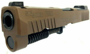 """Details about SIG P320 X-CARRY 9MM SLIDE ASSEMBLY 3 9"""" BARREL XCarry Upper  Coyote Tan FDE"""