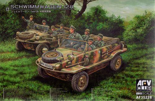 AFV Club 1 35 VW Schwimmwagen Type 128