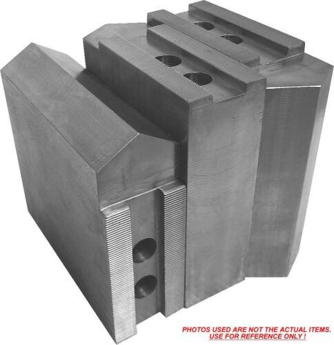 "3 pc set Kitagawa,Samchully KT-12508-28P Steel Soft Jaws ht=5/"" 12/"" Chuck"