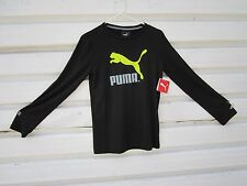 PUMA  BLACK KIDS GIRL SIZE US LARGE(14-16) T-Shirt,Long Sleeve,NWT, Retail $20+