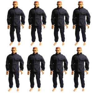 8X-Dress-clothes-for-GI-JOE-21st-Century-Soldier-1-6-12-039-039-dragon-hot-toy-figure