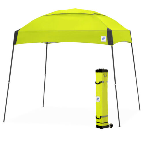 E-Z UP DM3SG10LA 10 x 10-Pied Dome Instantanée Shelter Canopy styliste//Acier Gris